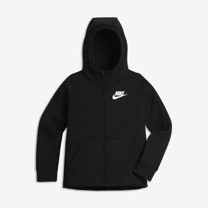 Nike Sportswear hettejakke til store barn (jente) - Black