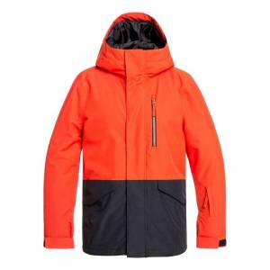 QUIKSILVER MISSION YOUTH JKT POINCIANA - S/8år