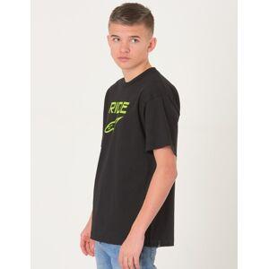 Alpinestars, RIDE 2.0 TEE, Svart, T-shirt/Singlet för Gutt, M M Svart