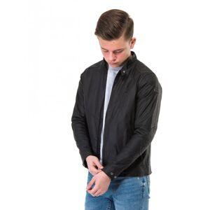 Barbour, B.Intl Spoke Wax Jacket, Svart, Jakker/Fleece för Gutt, XL XL Svart