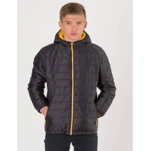 Barbour, Locking Hooded Jacket, Svart, Jakker/Fleece för Gutt, XL XL Svart