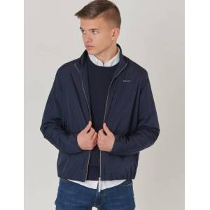 Gant , TB. THE WINDBREAKER, Blå, Jakker/Fleece för Gutt, 170 cm