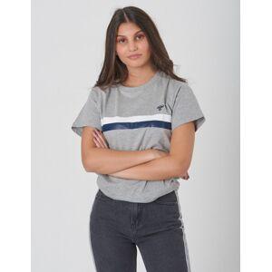 Hummel, KRISTIAN T-SHIRT S/S, Grå, T-shirt/Singlet för Jente, 140 140 Grå