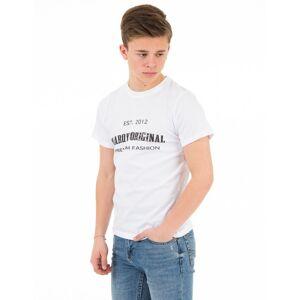 MarQy, Seattle SS Tee, Hvit, T-shirt/Singlet för Gutt, 122-128 122-128 Hvit