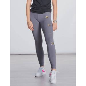 Nike , NSW TGHT FAVORITES AIR1, Grå, Strømpebukser/Leggings för Jente, L