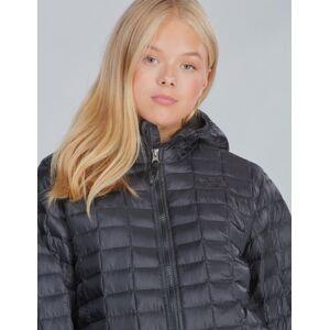 The North Face , THERMOBALL ECO HOODIE, Svart, Jakker/Fleece för Jente, XL