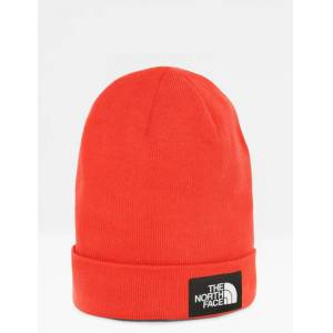 The North Face , DOCK WORKER RECYCLED BEANIE, Rød, Luer för Gutt, One size
