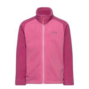 Helly Hansen K Daybreaker 2.0 Jacket Outerwear Fleece Outerwear Fleece Jackets Rosa Helly Hansen