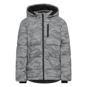 name it Nkmmonsson Reflective Jacket Fôret Jakke Grå Name It