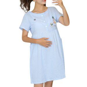 4b8929ecabac Newchic Nursing Clothes Pregnant Women Maternity Dresses Summer  Breastfeeding Cotton Dresses