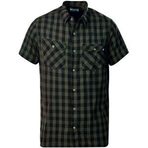 Berghaus Explorer 2.0 SS Shirt - Green/Dark Green Greencheck M