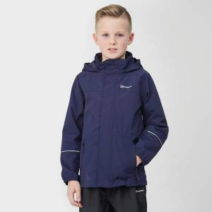 Berghaus New Berghaus Boy's Callander Jacket Kids Coat Blue Age 9-10