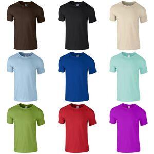 Gildan Childrens Unisex myk stil t-skjorte Indigo blått S