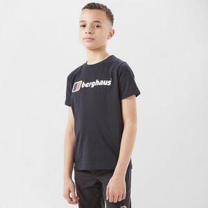 Berghaus Kids' Logo T-Shirt Black Age 13
