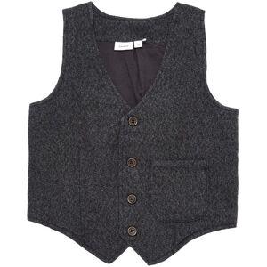 Name It Vest, William, Dark Grey Melange 110 cm
