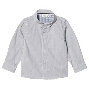 Name It Plusk Stripete Skjorte Hvit 92 cm