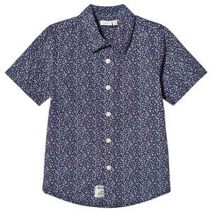 Name It Klower Skjorte Blå 116 cm
