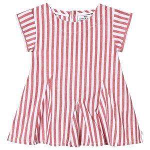 ebbe Kids Ramsa Dress Red Stripes 104 cm (3-4 år)