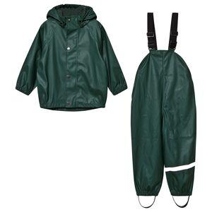 Kuling San Marino Regn Sæt Dark Green 86/92 cm