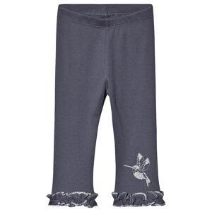 Minymo Leggings 2x2 Rib Ombre Blue 110 cm (4-5 år)