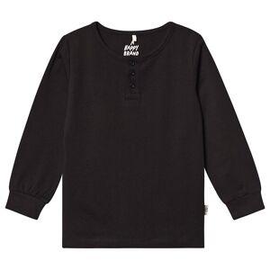 A Happy Brand A Happy Brand L/S Grandpa shirt Black 86/92 cm