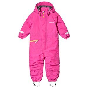 Didriksons Tysse Kids Coverall 2 Plastic Pink 100 cm (3-4 år)