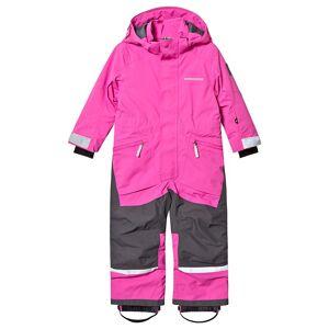 Didriksons Aslan Coverall Plastic Pink 140 cm (9-10 år)
