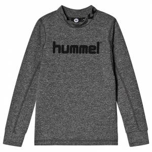 Hummel Ask Sweatshirt Medium Melange 140 cm (9-10 år)
