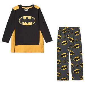 Batman Batman LS Pyjama Black 128 cm (7-8 år)