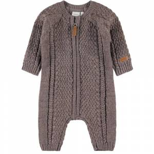 name it Baby Wrilla Wool Ls Knit Suit