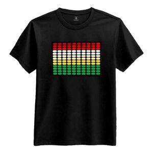 Catsson Int Group LTD LED Equalizer T-skjorte - Small