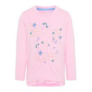 NAME IT Blomsterprint Langermet T-skjorte Women Pink
