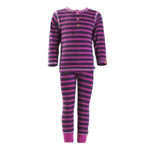 Navigare, bambus undertøysett, rosa stripete