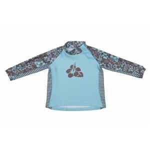 Stonz, Infant Top Hibiscus, blue/brown