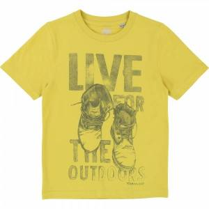 Timberland, t-skjorte live, limegul