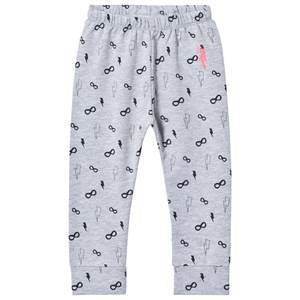 Scamp & Dude Chill Out Leggings  Grey Mask and Bolt 1-2 years