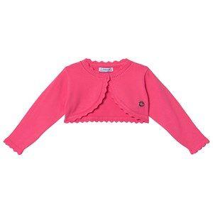 Mayoral Pink Basic Knit Cardigan 18 months