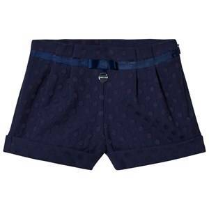 Mayoral Shorts with Geometrical Motifs Navy 8 years