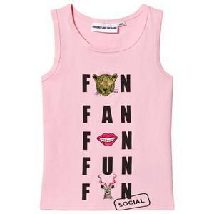 Gardner and the gang The Tank Top Social Fanclub Light Pink 1-2 r