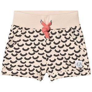 Indikidual Blush Multi Wave Print Jersey Shorts 0-6 months