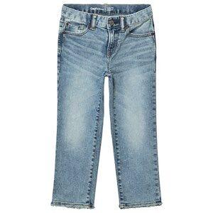 GAP Str8 Light Wash Fashion Jeans Blue 6 (6 Years)