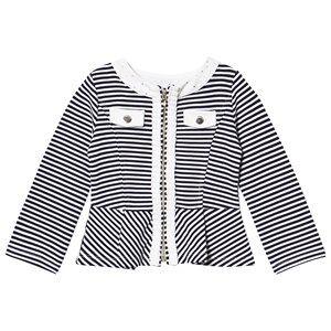 Mayoral Navy Stripe Jersey Jacket 5 years