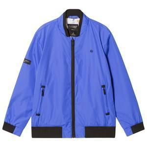 Mayoral Bomber Jacket with Printed Lining Blue 14 years