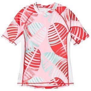 Reima Fiji Short Sleeve UV Top Bright Red 110 cm