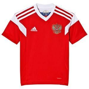 Russia National Football Team Russian 2018 World Cup Home Top Red 15-16 years