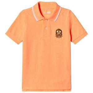 GAP Jos Orange Star Wars Polo Shirt S (6-7 r)