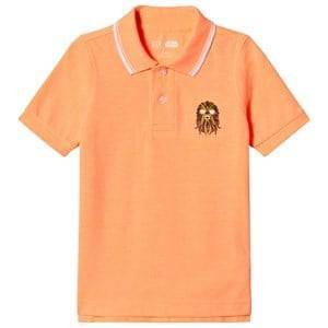 GAP Jos Orange Star Wars Polo Shirt M (8 r)