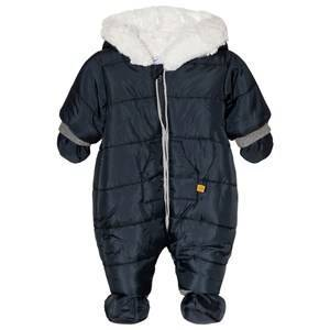 Absorba Hooded Coverall Navy 6 months