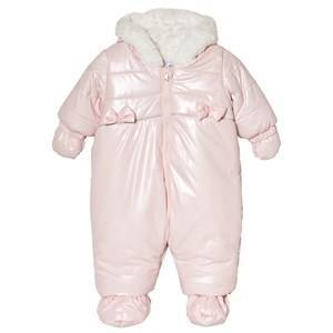 Absorba Hooded Coverall Pink 9 months