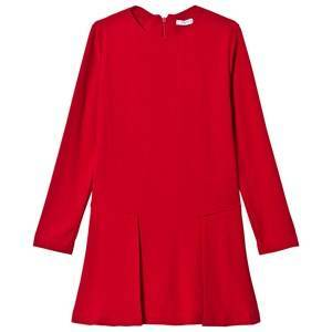 Mayoral Crpe Dress Red 18 years